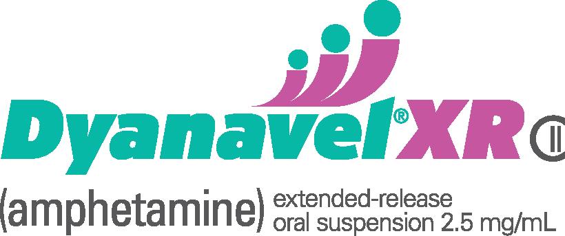 DYANAVEL® XR Amphetamine Extended Release 2.5mg Logo
